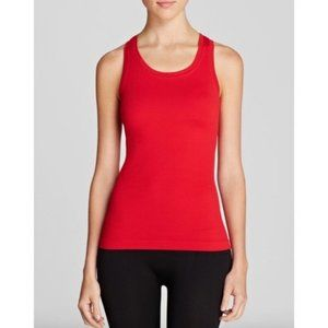 SPANX Red Active Ribbed Racerback Tank Small Med